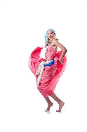 Photo for Dancer dancing spanish dances - Royalty Free Image