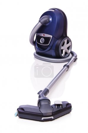 Photo for Vacuum cleaner isolated on the white - Royalty Free Image