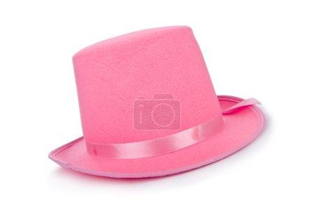 Pink topper hat