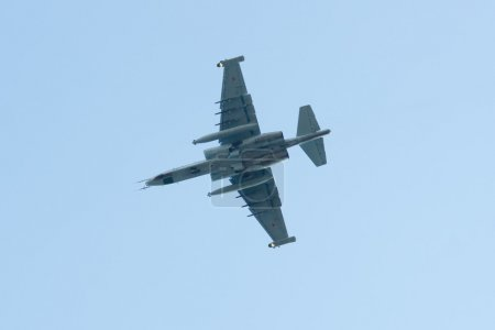 Su-25 is a single-seat jet aircraft.