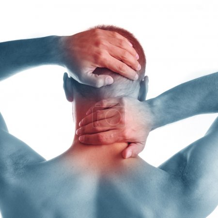 Pain in neck and head