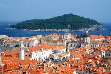 Dubrovnik Panorama taken at fortified walls