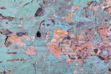 Photo pour Vieilli peint fond texture murale - image libre de droit