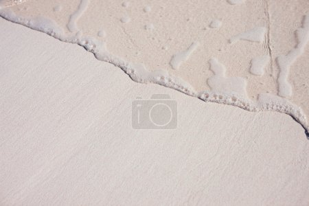 Sand background with wave