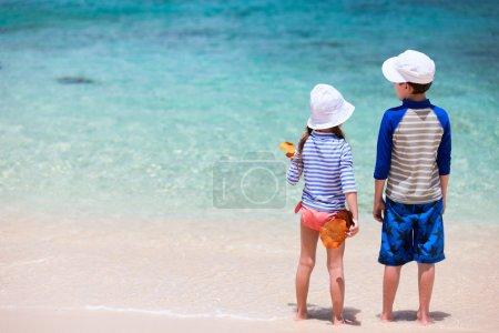 Kids at beach