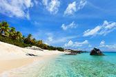 Stunning beach at Caribbean