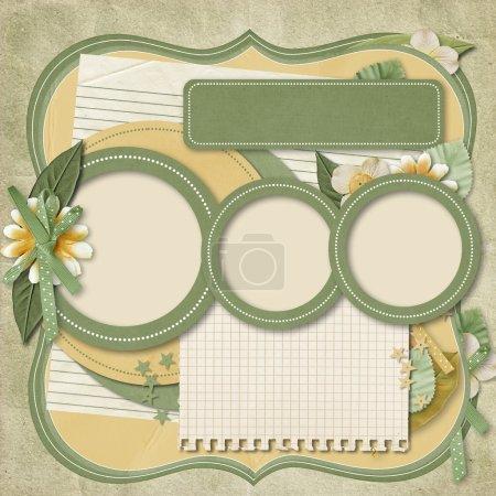 365 Project. scrapbooking templates.family album