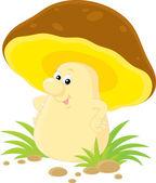 Yellow mushroom character