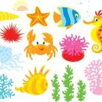 Sea animals...