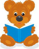 Medvěd hnědý mládě s modrou knížkou