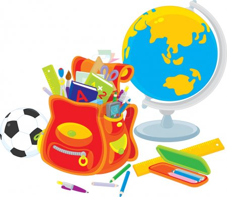 Stationery for a first grader