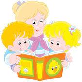Babičky a vnoučata čtení