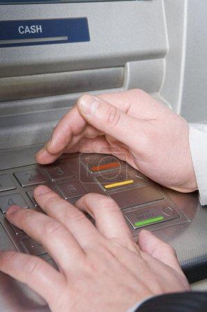 Automatic cash terminal security