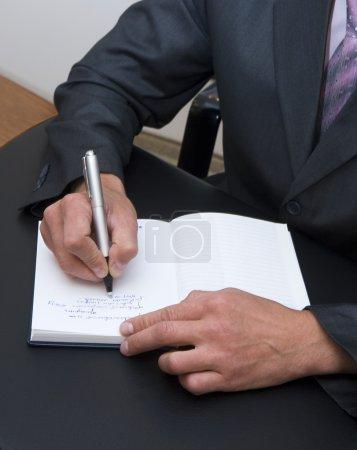 Photo pour Notes d'affaires - image libre de droit