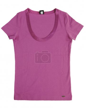 Photo for Pink shirt isolated - Royalty Free Image