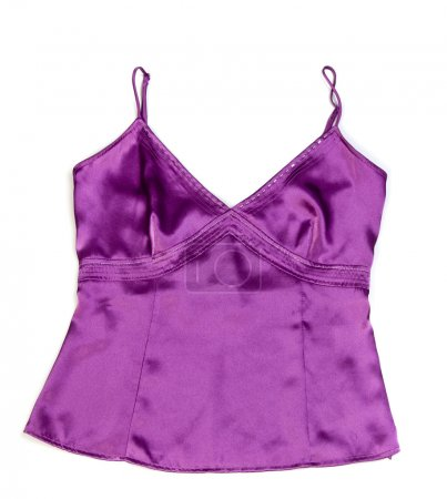 violet shirt isolated