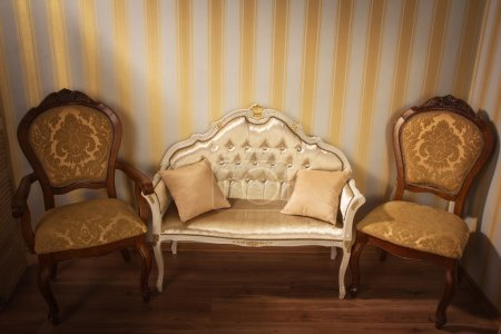 Photo for Luxurious interior in the aristocratic style - Royalty Free Image