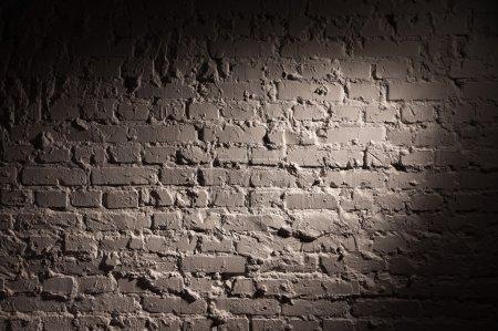 Photo pour Ancienne texture murale en brique - image libre de droit