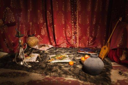 Photo pour Intérieur du harem arabe - image libre de droit