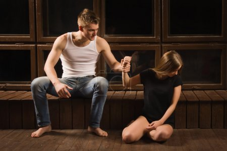 Conflict between man and woman