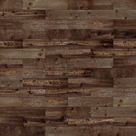 Wood seamless dark brown
