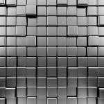 Metallic background. High quality 3d render...