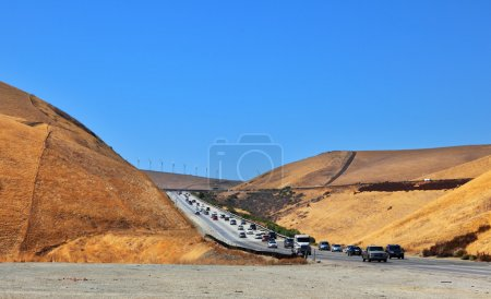 The big highway in California.