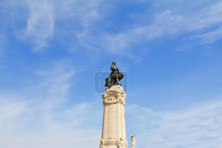 The monument to the Portuguese king