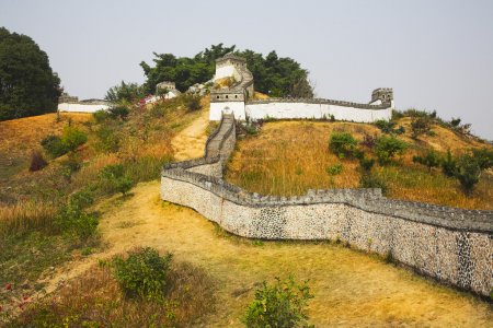 The reduced copy of the Great Chinese wall