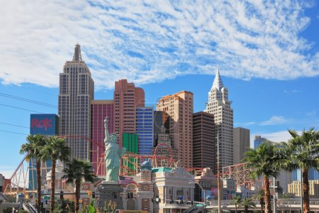 "Magnificent hotel ""New York"" in Las Vegas"