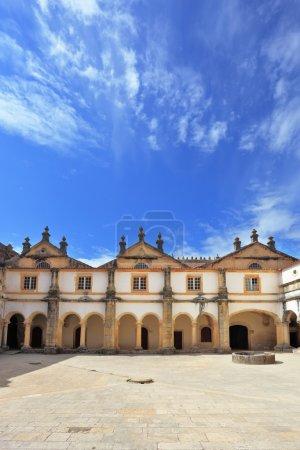 Portugal. Beautiful inner courtyard