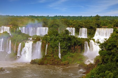 The  waterfalls Iguazu