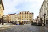 Male Namesti in the historical centre of Prague.