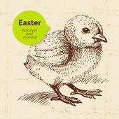 Vintage Easter background