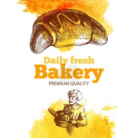 Bakery Vintage illustration