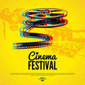Movie cinema festival poster