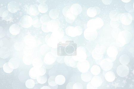 Foto de Invierno borrosa bokeh background - Imagen libre de derechos