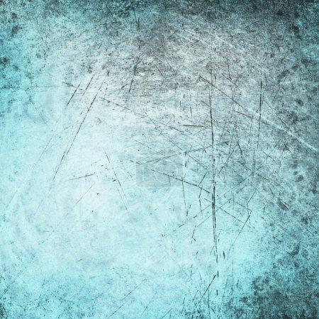 Photo pour Abstract grunge bleu texture fond - image libre de droit