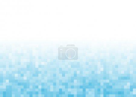 Abstract gradient pixel background