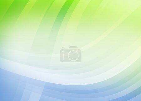 Foto de Ola gradiente de colores de fondo abstracto - Imagen libre de derechos