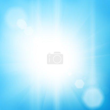 Photo pour Fond de ciel lumineux de soleil éclatant - image libre de droit