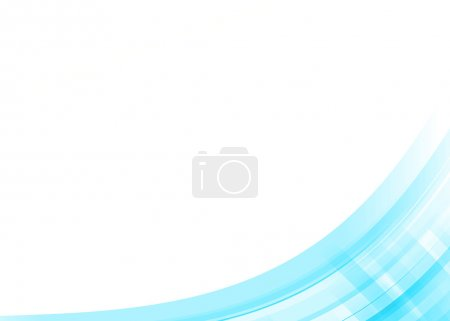 Photo for Colorful wave abstract gradient background - Royalty Free Image