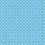 Seamless blue polka dot background pattern...