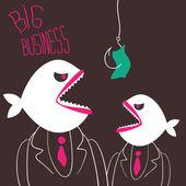 Rozzlobený podnikání ryby