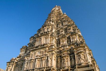 Virupaksha Temple in Hampi, Karnataka, India