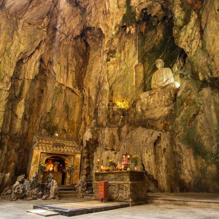 Buddhist pagoda in Huyen Khong