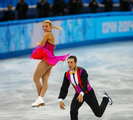 Figure Skating Pairs Short Program