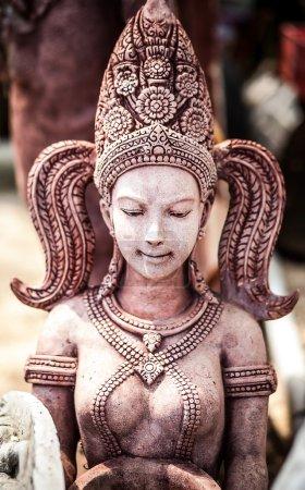 Ancient stone sculpture.