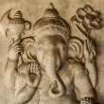 Hindu God Ganesh with Clipping Path...