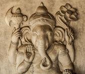 Hinduistický bůh ganesh s ořezovou cestou